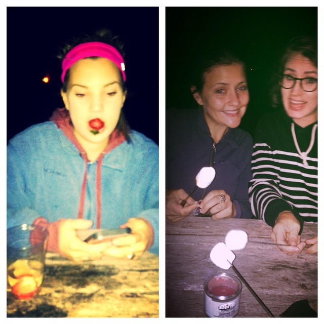 TBT to Sidecar camping that didn't end too well. #smores #gandt