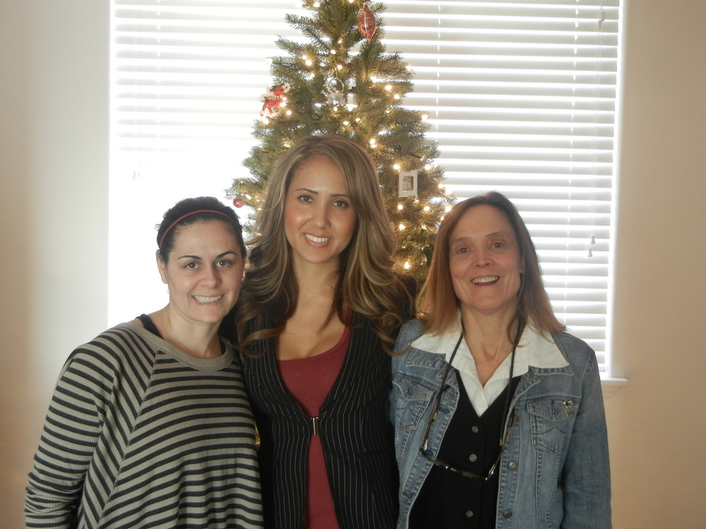 Pictured L to R: Iffy Ibello(My Wife), Kaya Barntsen(Sister/Co-founder), Barbara Barntsen(My Mother)