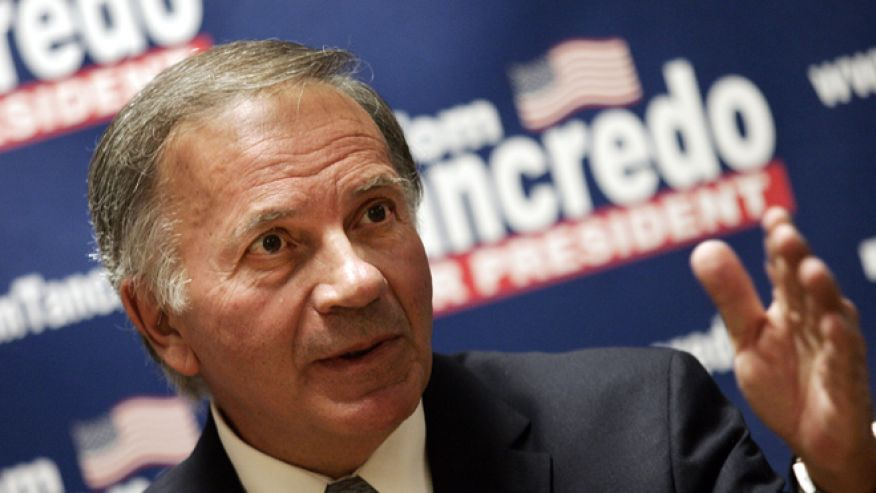 FILE: Undated: Colorado GOP gubernatorial candidate Tom Tancredo in Des Moines, Iowa.REUTERS and FoxNews.com