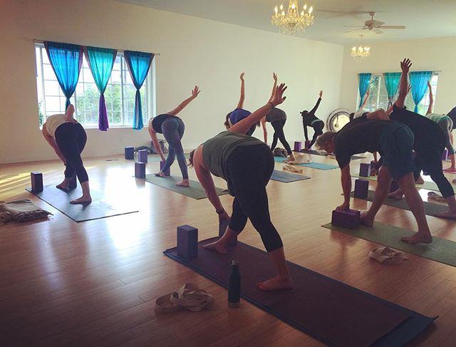 Subbing tomorrow's (Tuesday) Level 2 5:30pm class @mandala.yoga.center ! Come play! 🙃
