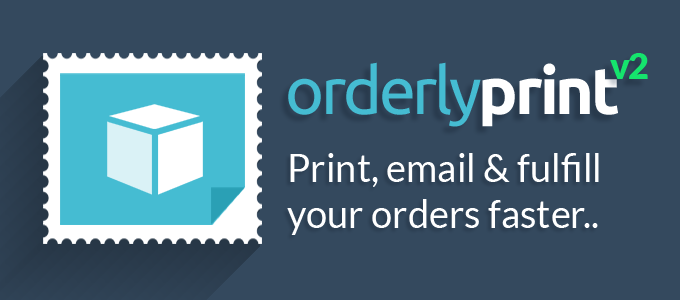 OrderlyPrint for Shopify