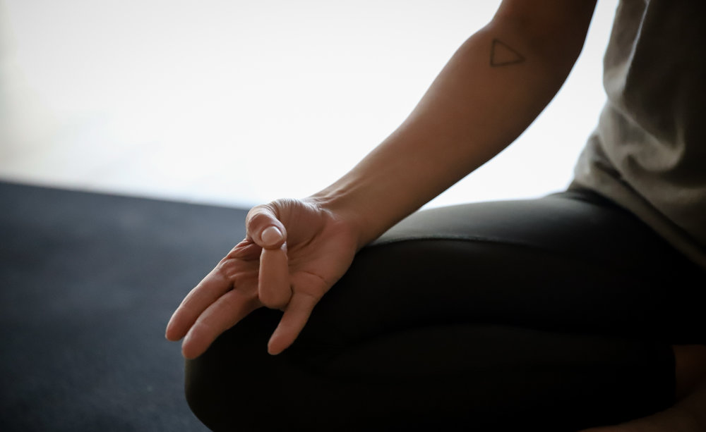 Surya Mudra - Another fiery mudra, this one to improve the element of fire in the body to support digestion and metabolism. Surya representing the quality of digestive fire. Not just our food, but our ability to digest and metabolise everything coming through our senses. This mudra can have the effect of increasing core temperature so great for warding off colds and reducing heaviness in the body.