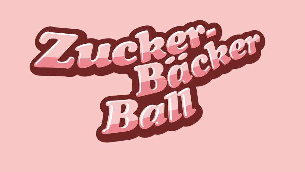 ZuckerBäckerball Logo Rosa