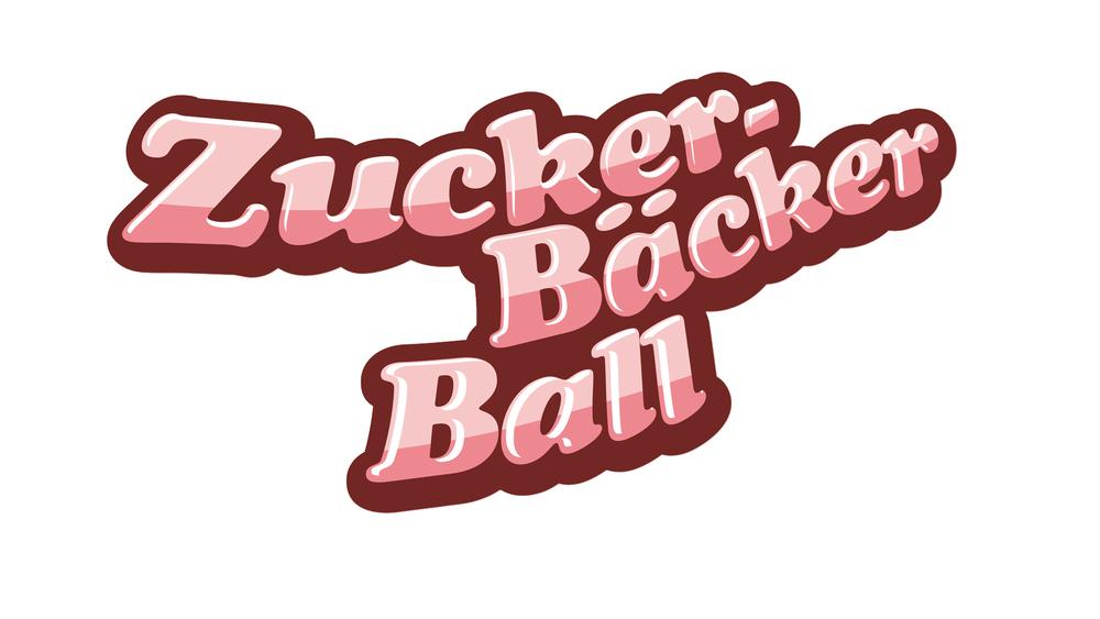 ZuckerBäckerball Logo Weiss