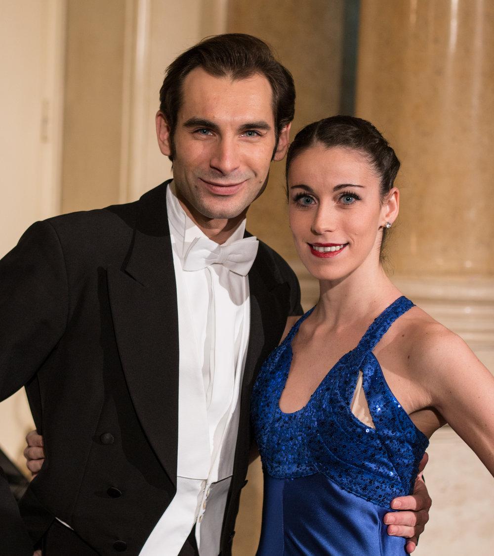 Solotänzer Alice Firenze und Mihail Sosnovschi