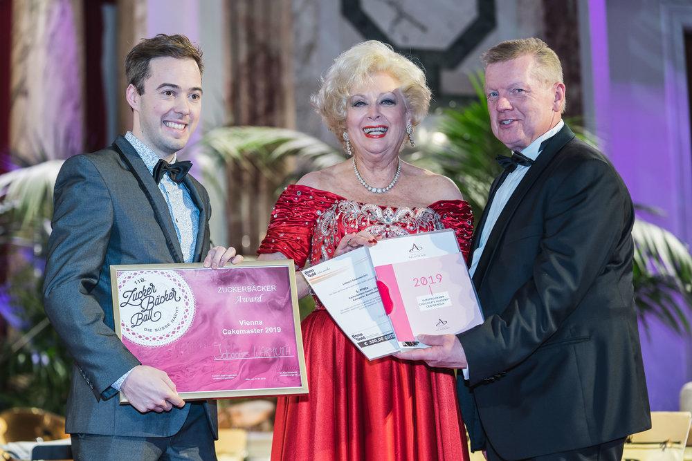 Zuckerbäcker Award Konditoren Johannes Warmuth Konditorei Semmelrock