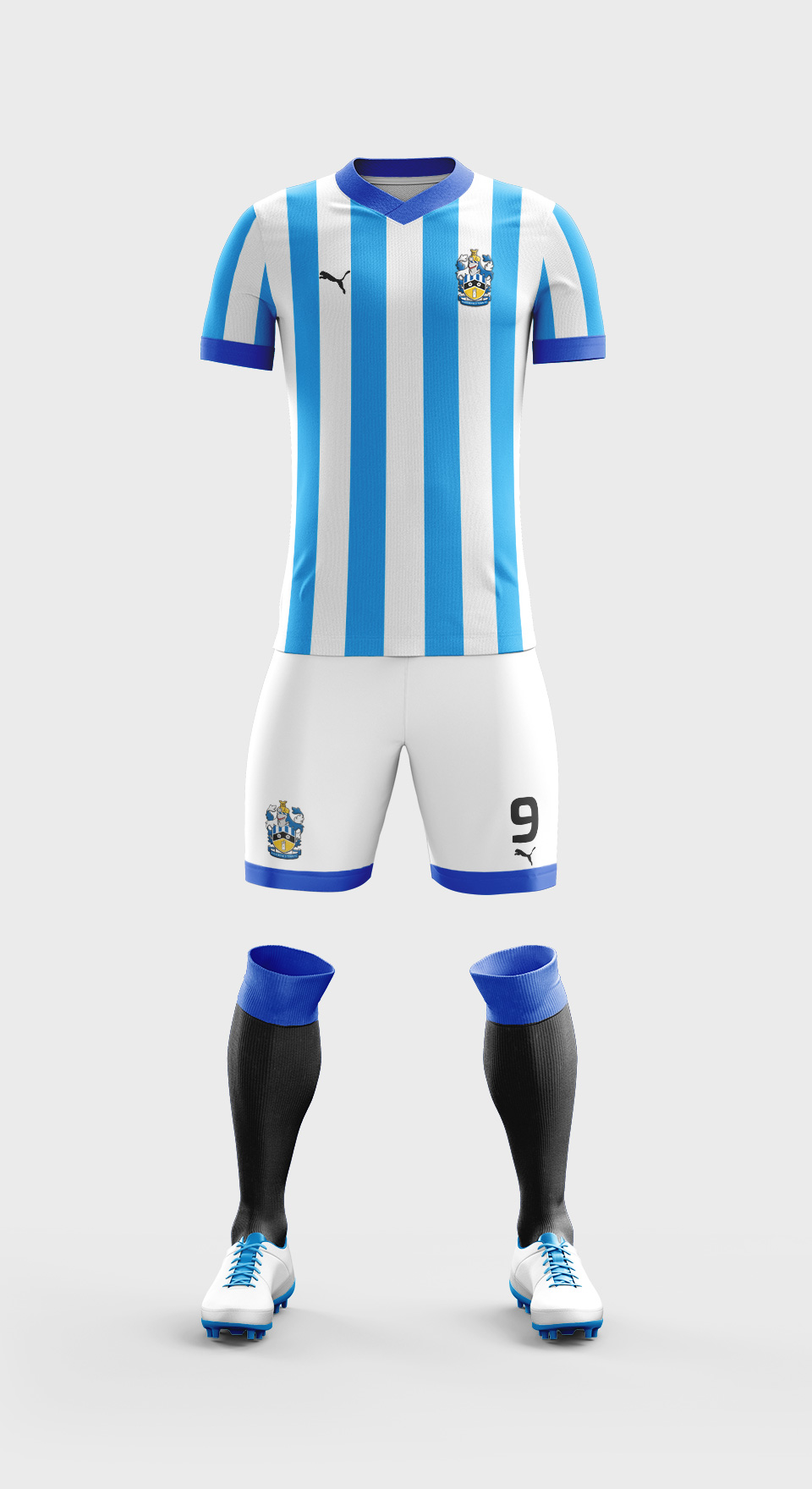 huddersfield town kit design