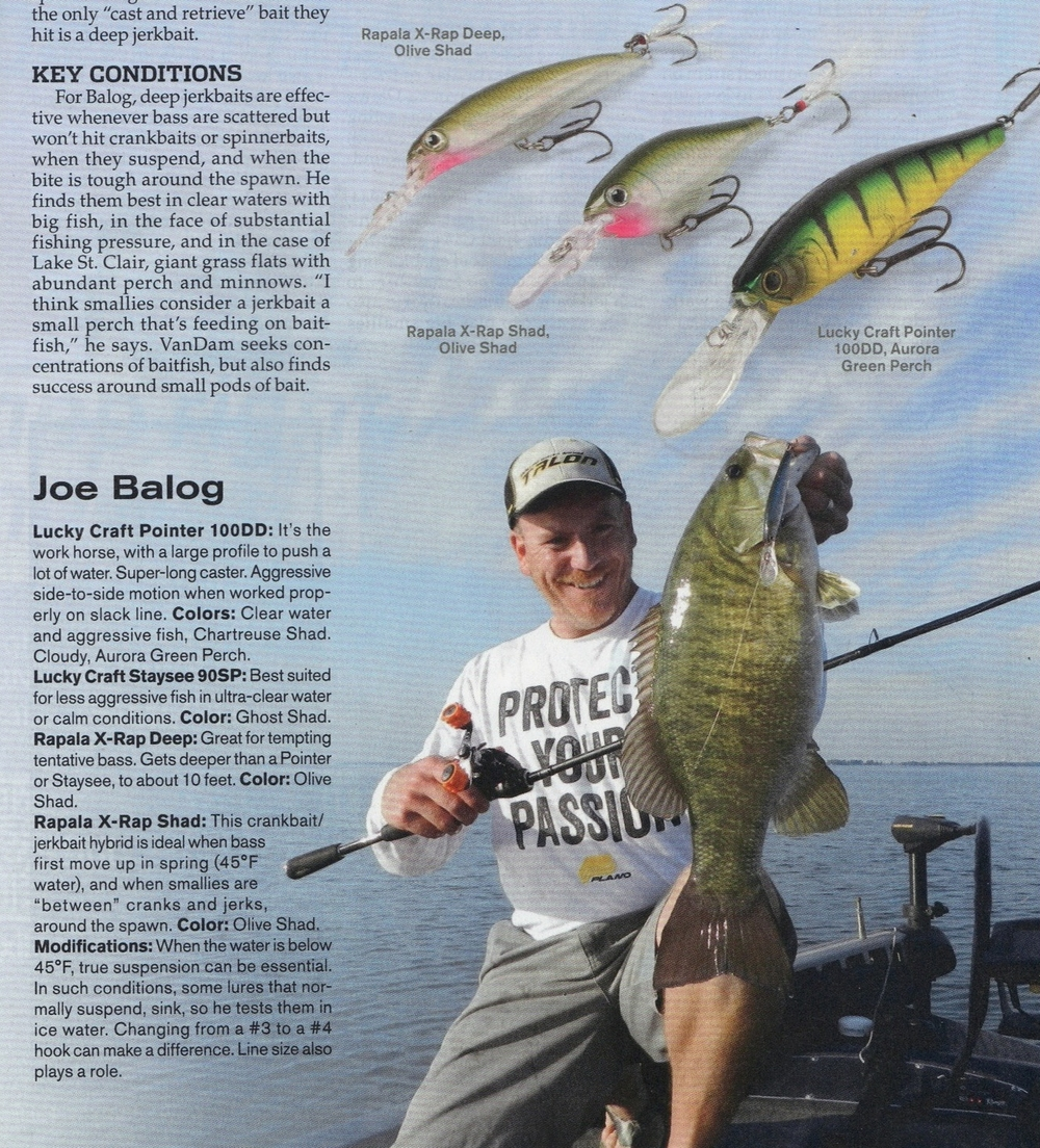 Article from In-Fisherman magazine