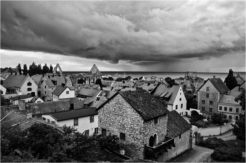 Storm over Visby