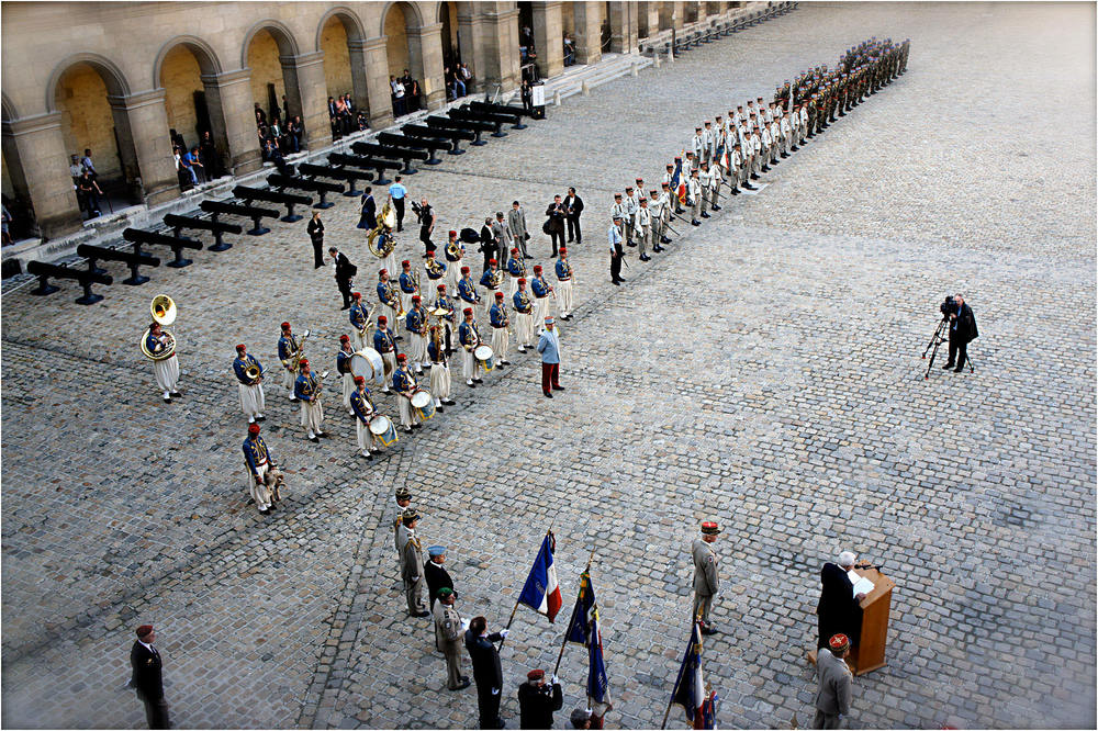 Parade at Invalides