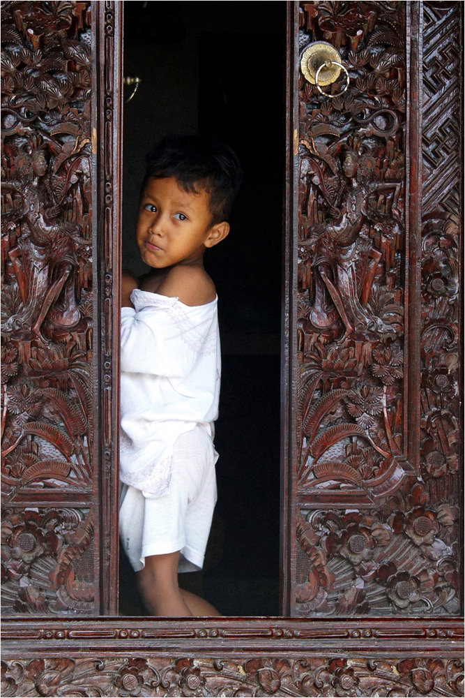 Boy in Doorway