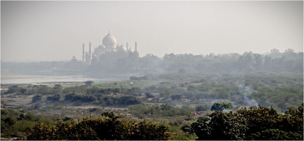 Polluted Agra