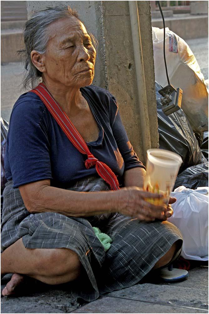 Blind Beggar Woman