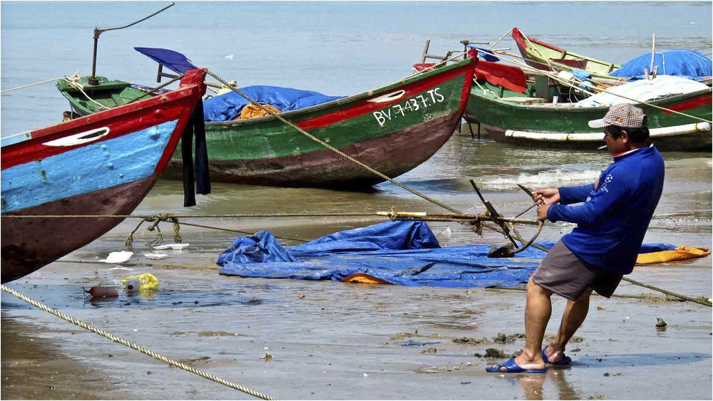 Fishing Scene, Da Nang