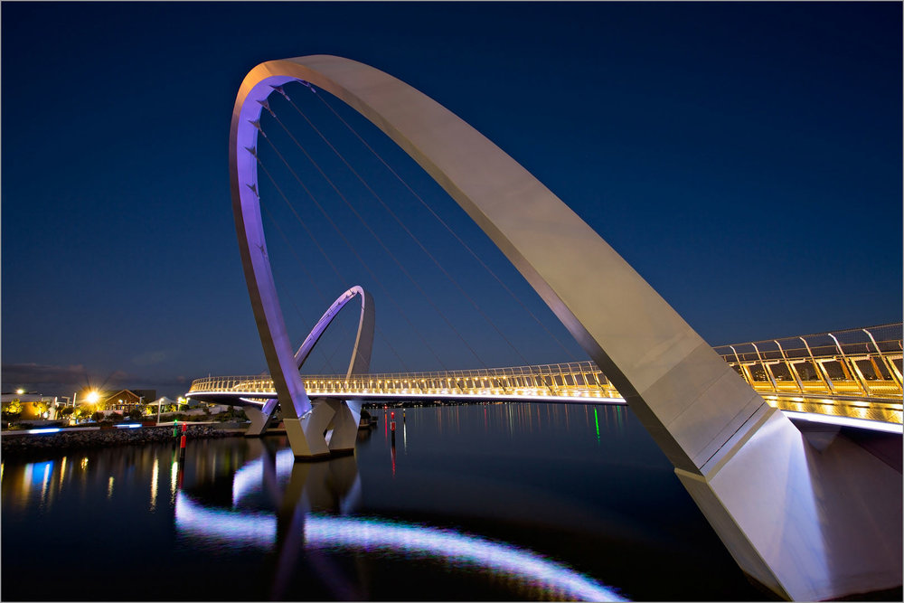 Elizabeth Quay at Night