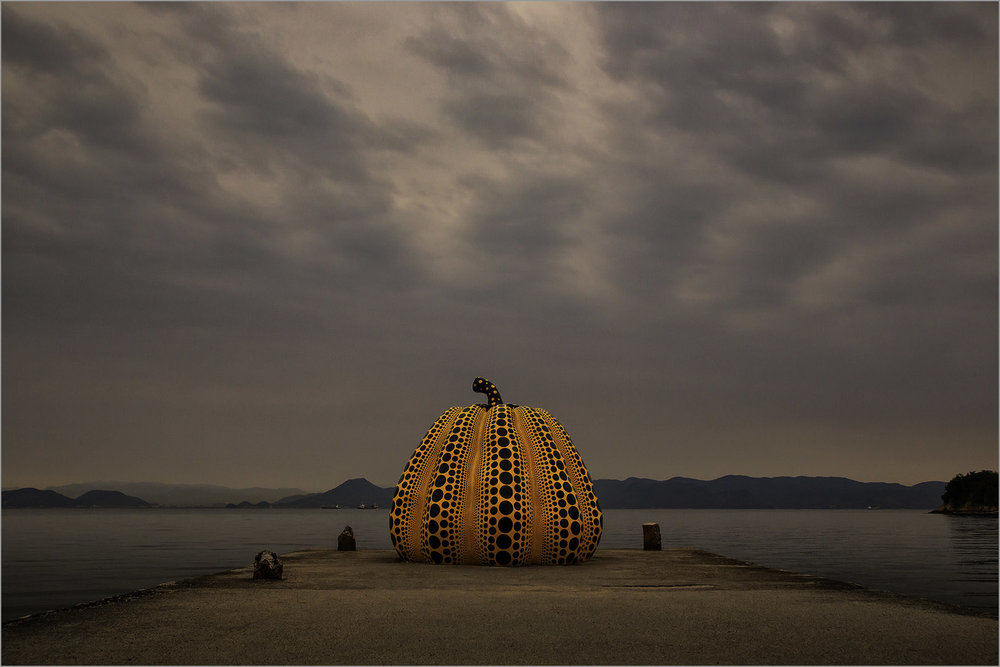 The Pumpkin on Naoshima