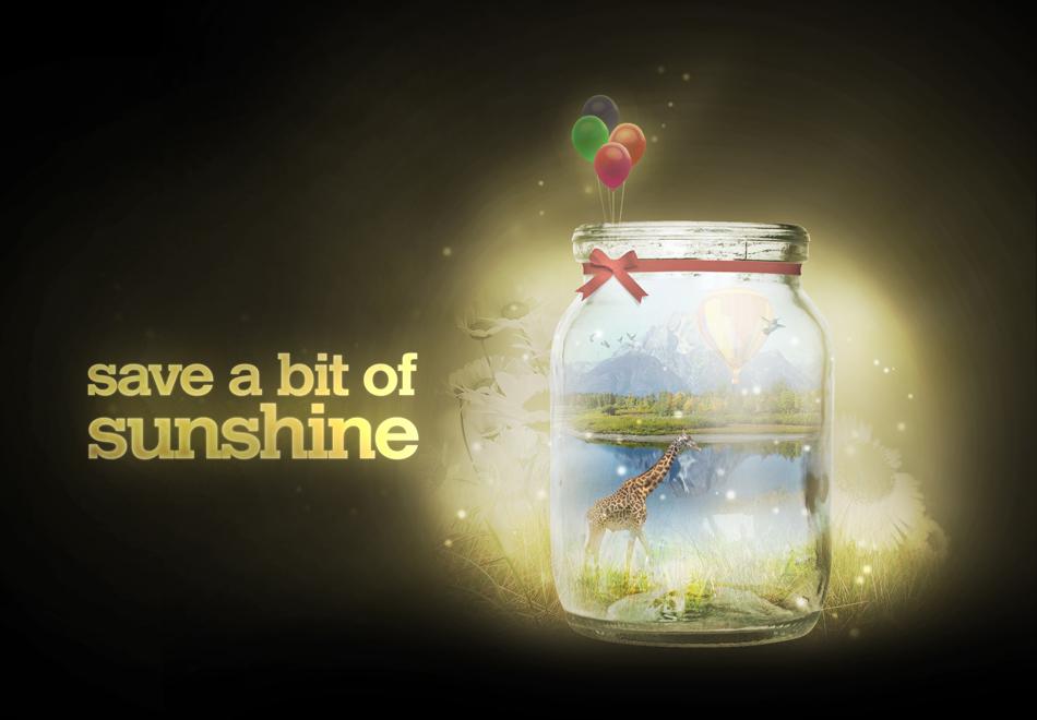 Save a bit of sunshine