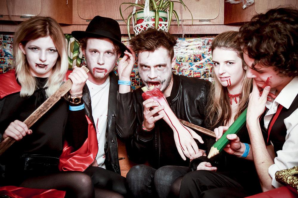 The Masked Ball Caravan Photobooth