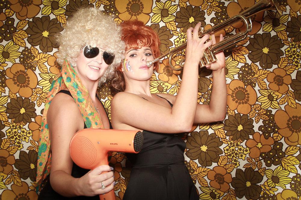seventies photobooth