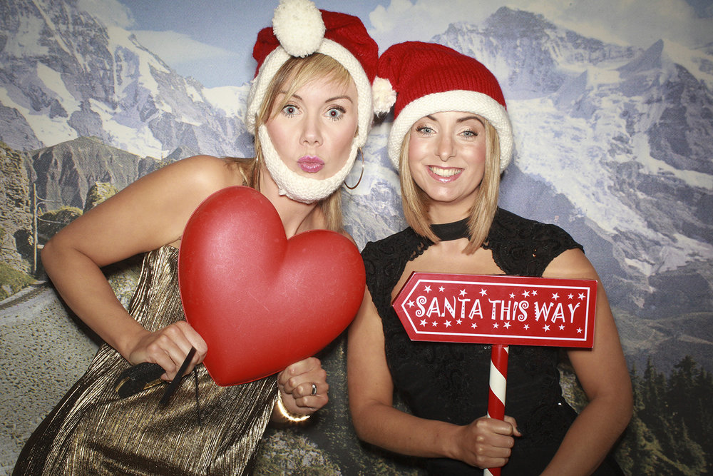 Alpine Christmas Photobooth Scotland