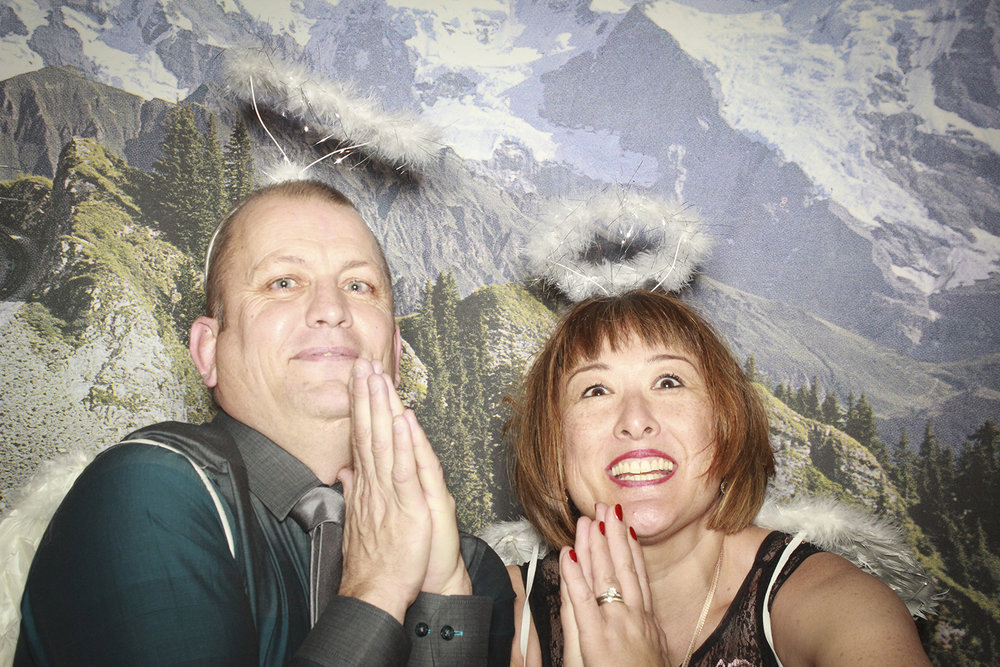 Alpine Christmas Photobooth
