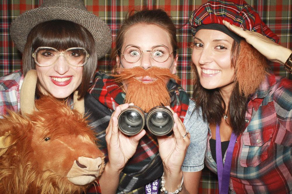Visit Scotland Photobooth