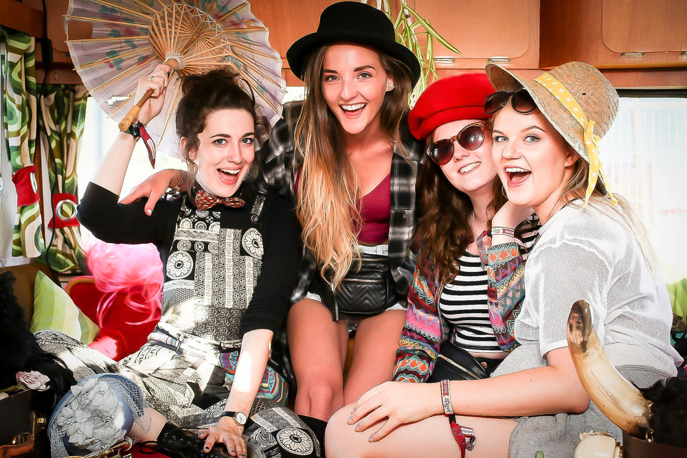 Beatherder festival photobooth
