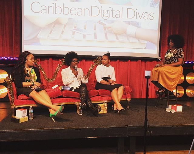 Learning all about #branding #marketing #monetization at the #caribdd16 🗽 #diaspora #community #nyc #caribbeanamerican #digitalmedia #entrepreneur #entertainment #locals #brooklyn #eastwilliamsburg #williamsburg #bushwick #brooklynlife #bk #womeninbiz #womeninpower #officialwomen #interestingnight #panel #livestreampublic #livestream #art #film #exhibition #contentmarketing