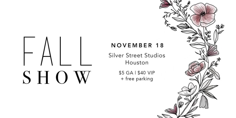 Please join us on November 18th from 9am-5pm at Silver Street Studios for Flea Style Fall Show. This is a great event to shop local vendors and support small businesses! We will be fully stocked with new products that make great gifts for the holiday season. Come say hello at our booth!