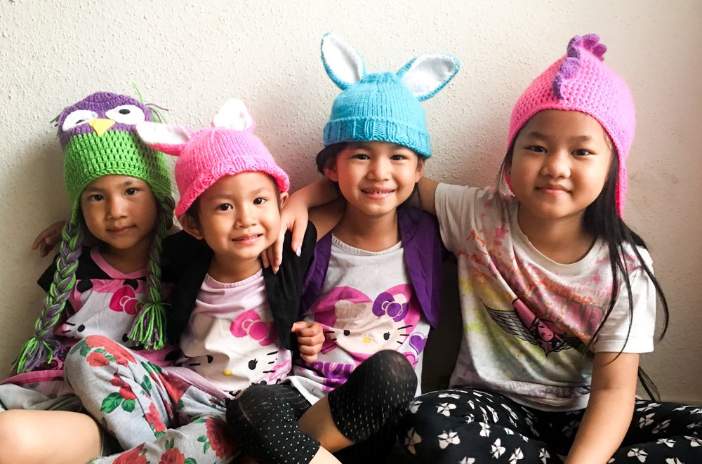 Brighten a child's day with a SPECIAL EDITION animal hat!  - Purchase a hand-knit hat here to donate to a child at Texas Children's Hospital