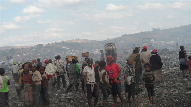 Stock photo of landfill outside Antananarivo by  Friends of Father Pedro Charity
