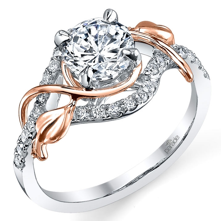 Mark Michael Parade Designs R3118 rose gold
