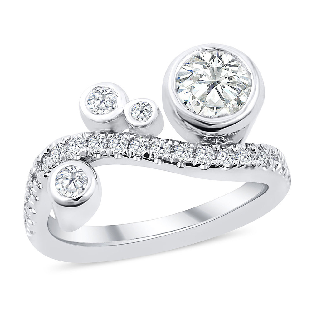 bezel products rings halo ring engagement emmerson set diamond moissanite