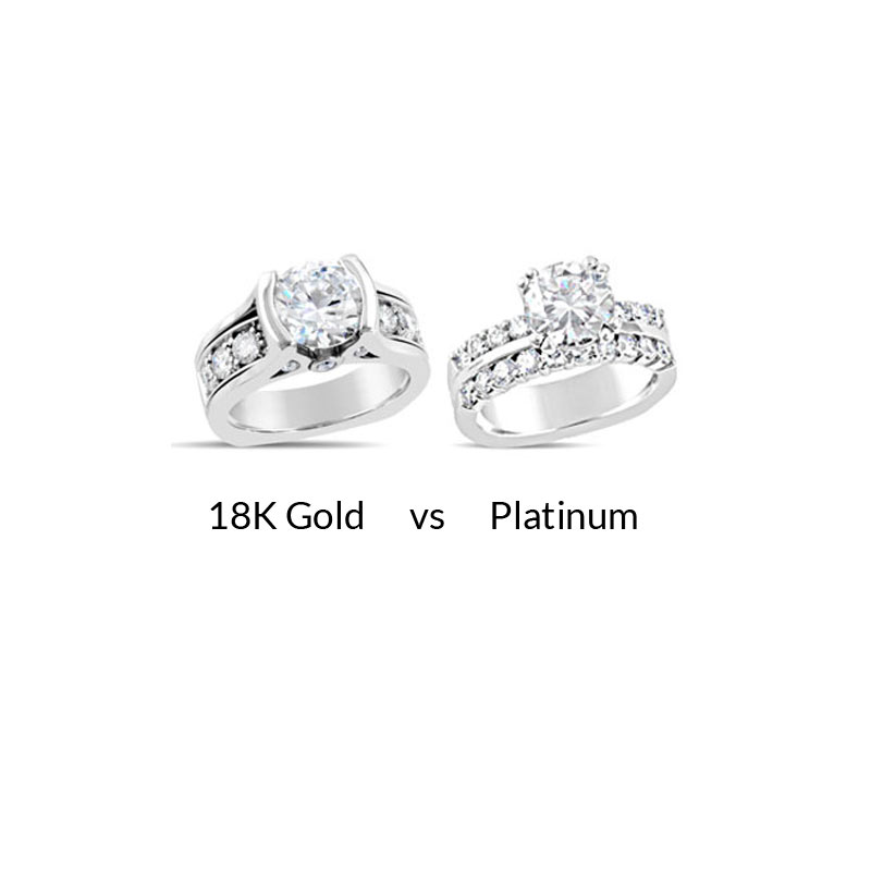 Gold Vs Platinum What You Need To Know Mark Michael Diamond Designs