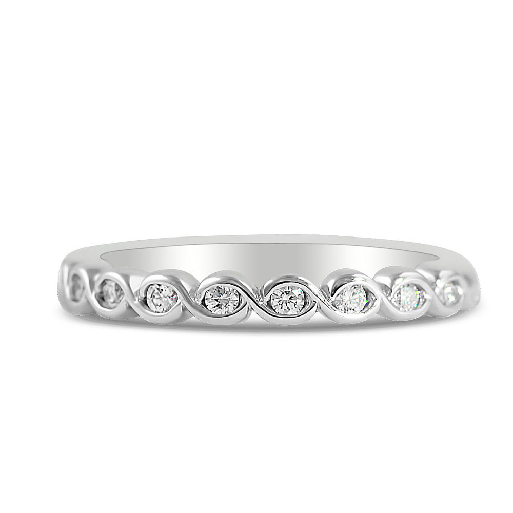 gold white wedding eternity bezel band diamond set in standard platinum wb pave