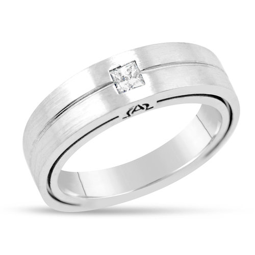 e52cad8a9ee70a Men's Alpha Collection Single Diamond Ring — Mark Michael Diamond ...