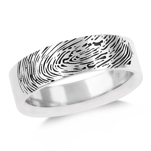 31eca3ee950 Men s Fingerprint Ring — Mark Michael Diamond Designs