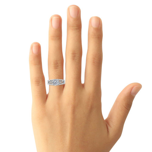 ring petite solitaire oe madrid nature twig engagement rings lwc inspired wrapped