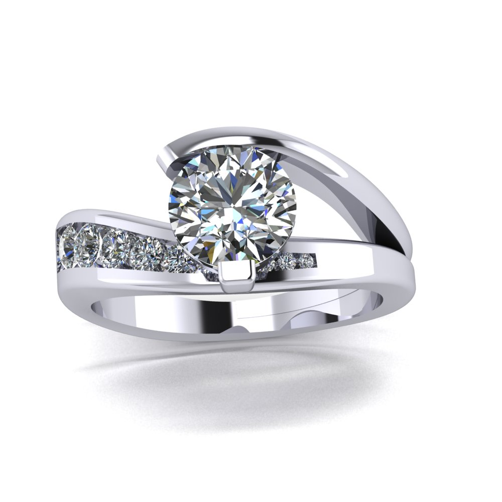 Low profile modern contemporary engagement ring.jpg