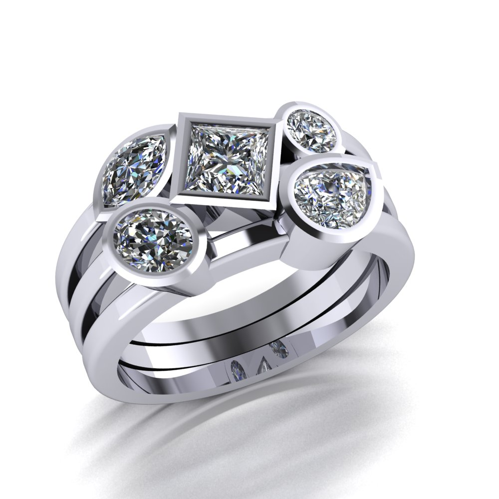 bold contemporary mixed shape diamond ring.jpg