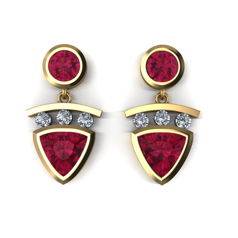 modern yellow gold ruby and diamond earrings.jpg