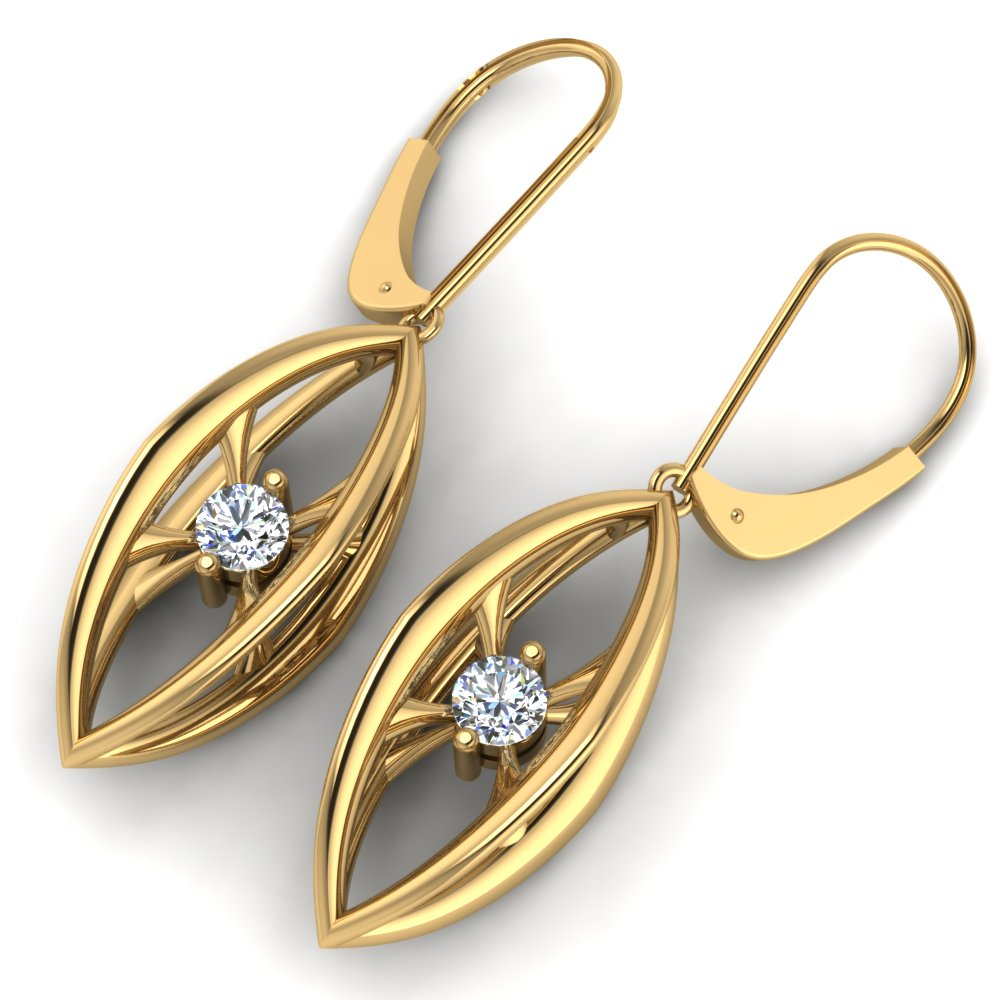 modern 3D earrings yellow gold diamonds.jpg