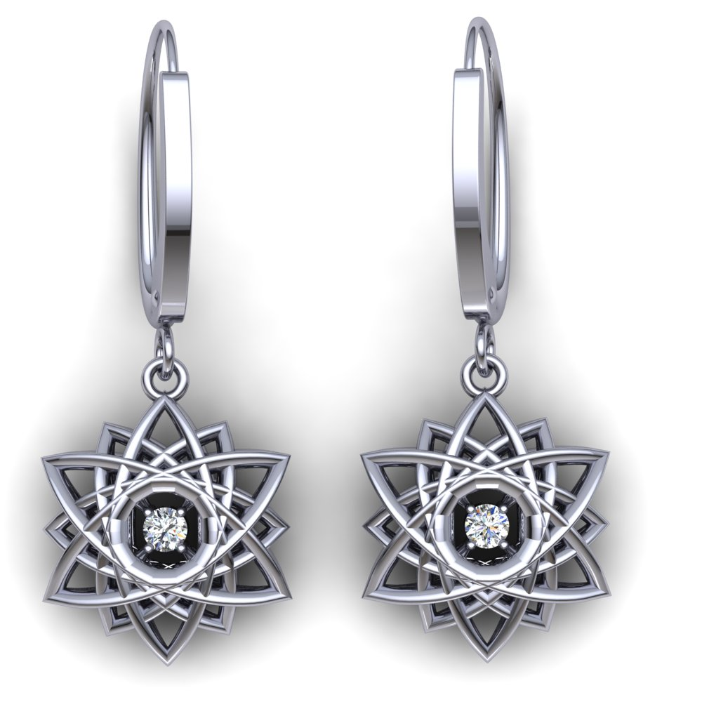 modern 3D snowflake diamond earrings white gold.jpg