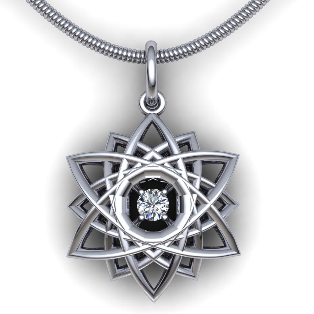 modern 3d snowflake diamond pendant white gold.jpg