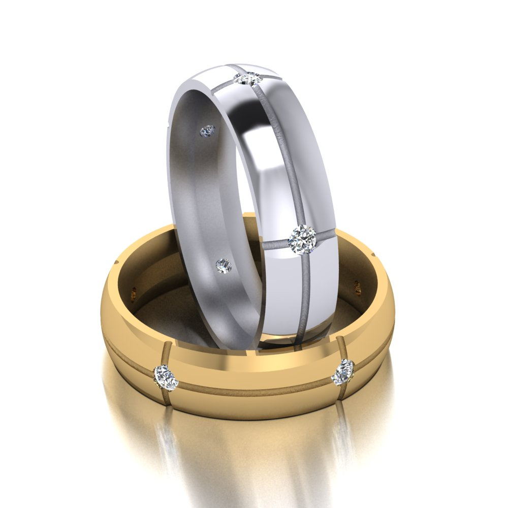 sleek modern 5 diamond mens wedding ring.jpg