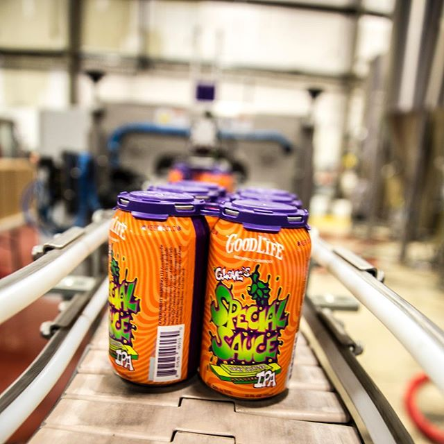 @phillyglove Special Sauce IPA is rolling off the line right now! Get down to @goodlifebrewing to give it a try.