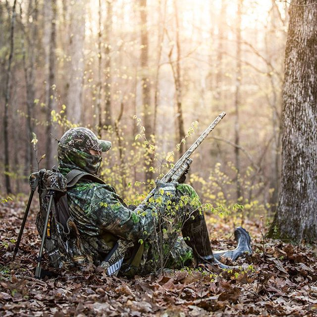 From a turkey hunt in the great state of Kentucky this past April.  #Repost @lacrossefootwear ・・・ Waiting.⠀ 📷 @dangersoup⠀