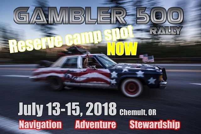 One of my favorite photos being used for one of my favorite events. If you have the ability to make it, you won't be disappointed.  #Repost @thegambler500 ・・・ Link in bio Tag your buddies.... gambler500.com for info... #gambler500 #oregon #offroad #overland #car #adventure #rally not a #race #hoonigan #nitrocircus #dirteveryday #roadkill #thegambler500 #alwaysbegambling #abg @sigsauerinc @teamjcwhitney @superwinchllc @emwestmotorsports @un.paved @intercotires @heatwavevisual @rhinolinings @trailworthyfab @totalchaosfabrication @mc_custom_fab @pabstblueribbon @ivdsuspension @colemanpowersports_usa @traxxas @yakimaracks @canyoncoolersofficial @autopartswarehouse