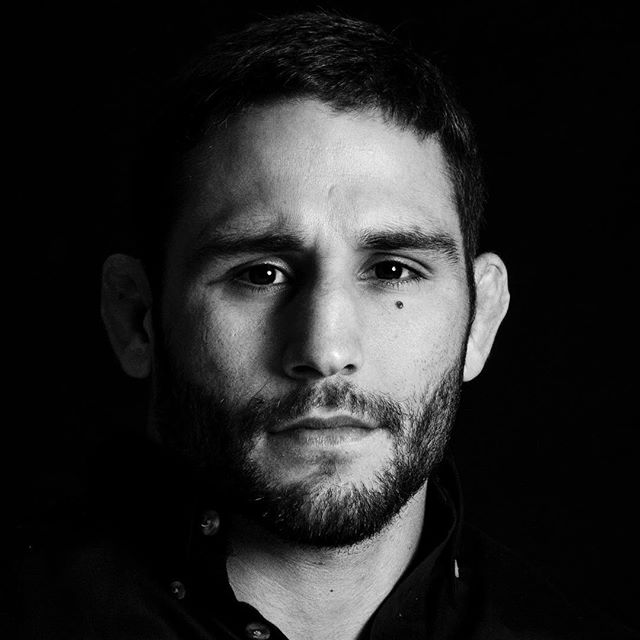 It's fight week! Who else is excited to see @chadmendes back in the octagon? Tune in Saturday, July 14th  on @fs1.  Photo taken in 2014 for a Team Weatherby photo shoot in Las Vegas. Lighting by @scottnathan, @dangersoup on the trigger. #teamweatherby #ufc #ufcfightnight