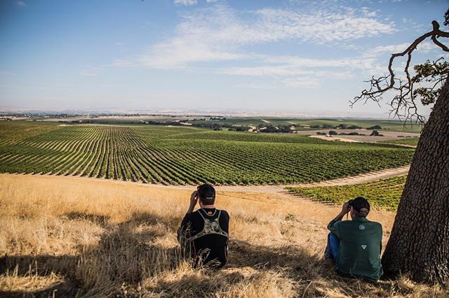 Pick up the new @fieldandstream magazine this month to read about a vineyard hunt in @pasorobles, and see some @Dangersoup photos.